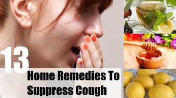 Home Remedies To Suppress Cough