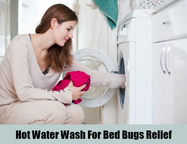 Hot Water Wash For Bed Bugs Relief