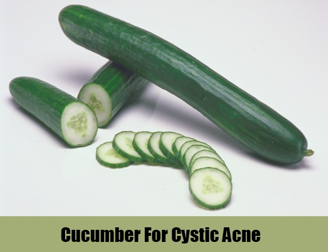 Cucumber For Cystic Acne