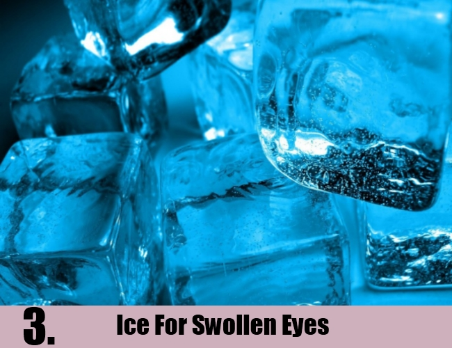 Ice For Swollen Eyes