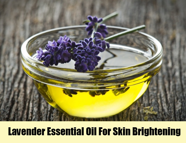 Lavender Essential Oil For Skin Brightening
