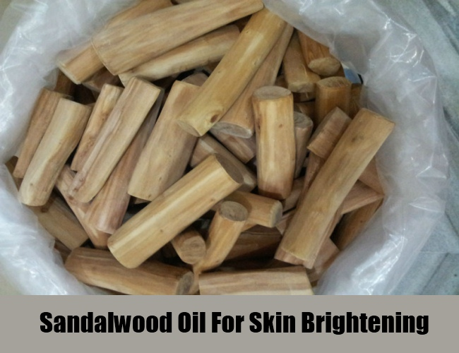 Sandalwood Oil For Skin Brightening