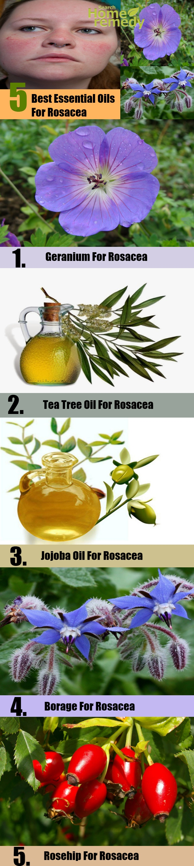 The 5 Best Essential Oils For Rosacea