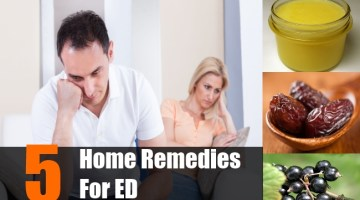 Home Remedies For ED