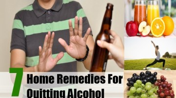 Home Remedies For Quitting Alcohol