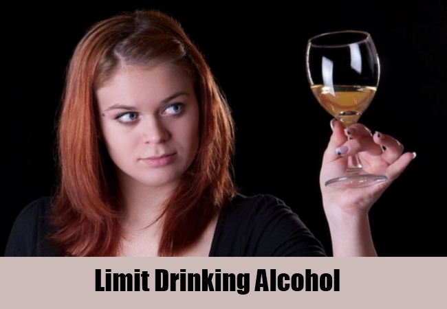 Limit Drinking Alcohol