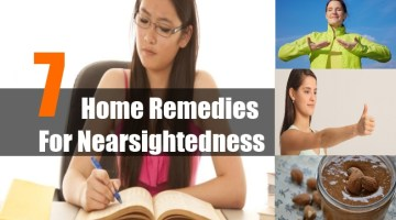 Home Remedies For Nearsightedness