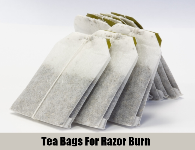 Tea Bags For Razor Burn