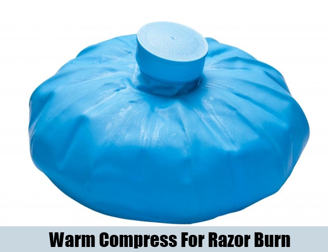 Warm Compress For Razor Burn