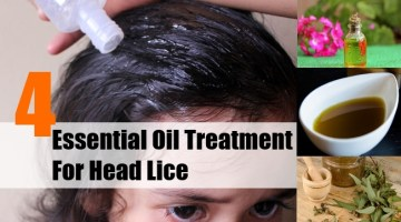 Essential Oil Treatment For Head Lice