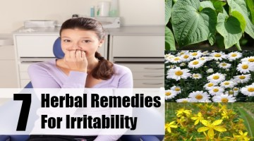 Herbal Remedies For Irritability