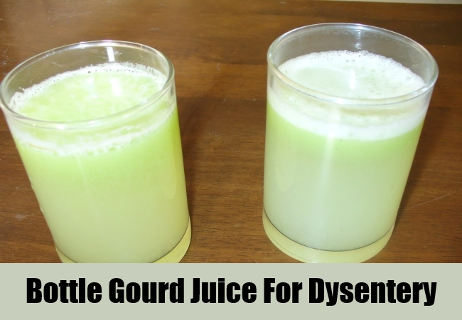 Bottle Gourd Juice For Dysentery