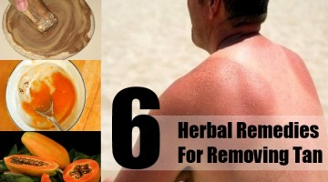 Herbal Remedies For Removing Tan