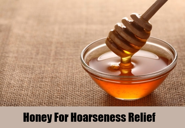 Honey For Hoarseness Relief