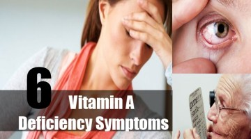 Vitamin A Deficiency Symptoms