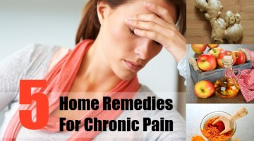 Home Remedies For Chronic Pain