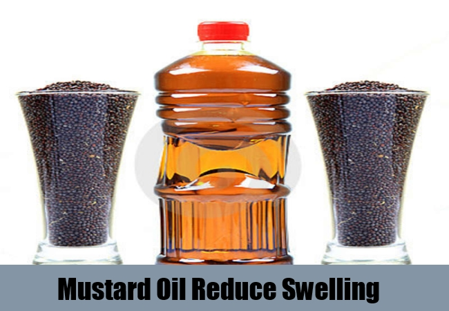 Mustard Oil Reduce Swelling