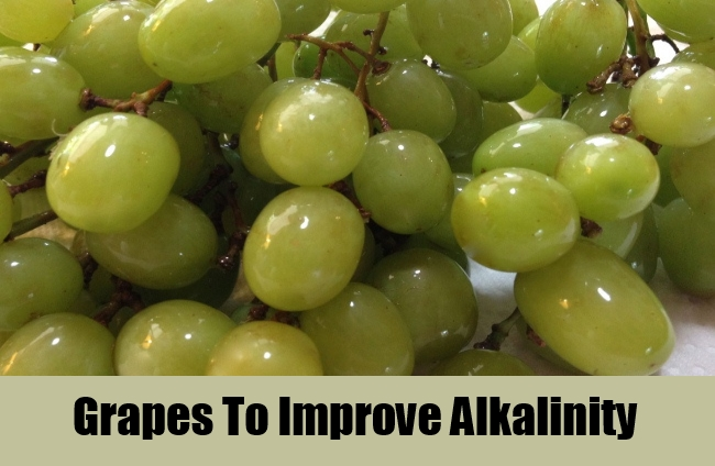 Grapes To Improve Alkalinity