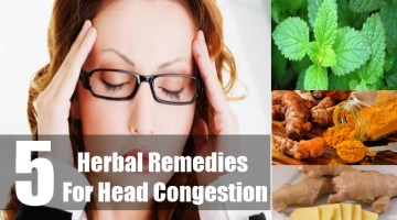 Herbal Remedies For Head Congestion
