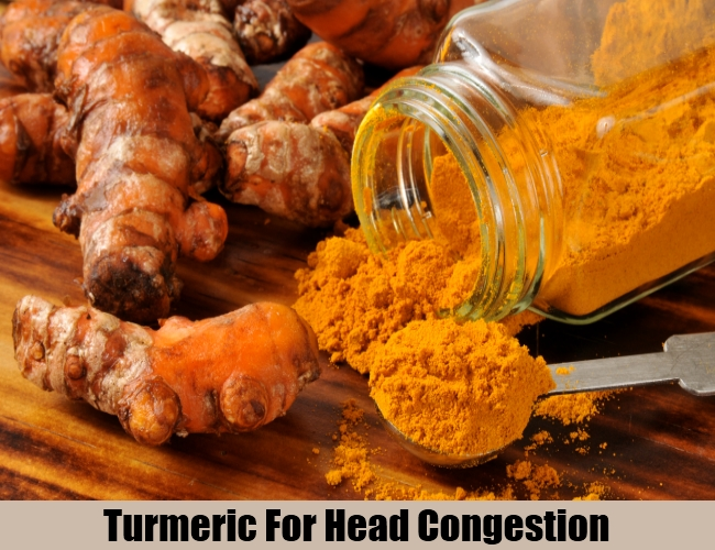 Turmeric For Head Congestion