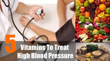 Vitamins To Treat High Blood Pressure