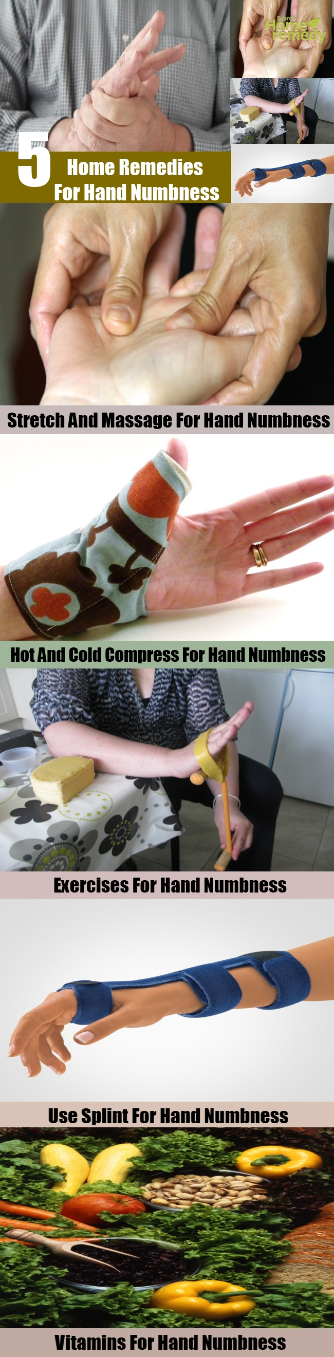 5 Home Remedies For Hand Numbness