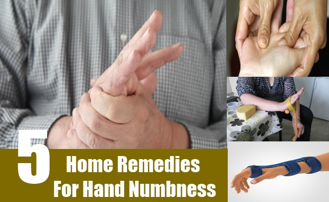 Home Remedies For Hand Numbness
