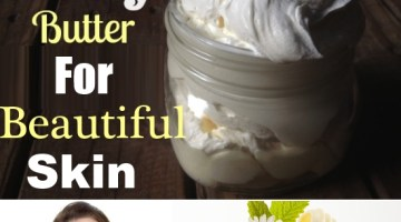 Coconut Oil Magnesium Body Butter For Beautiful Skin