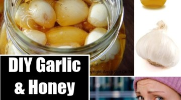 DIY Garlic and Honey Remedy for Cold and Flu