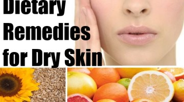 Dietary Remedies for Dry Skin