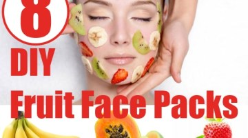 Homemade Fruit Face Packs