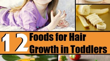 Foods for Hair Growth in Toddlers
