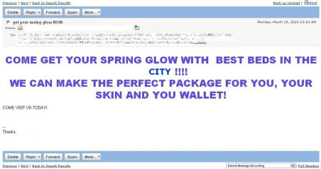 E-mail Marketing No-No