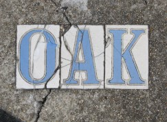 Oak Street tiles - New Orleans