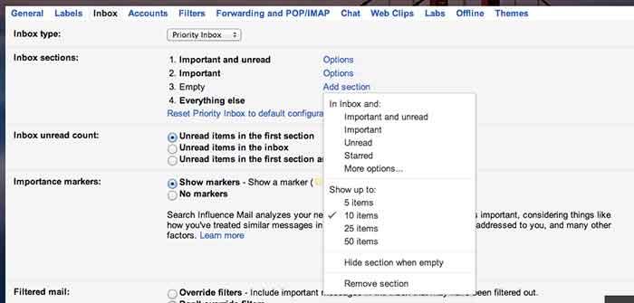 GmailSettings