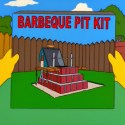 Barbecue pit kit