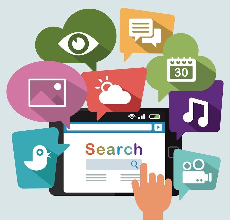 Search graphic