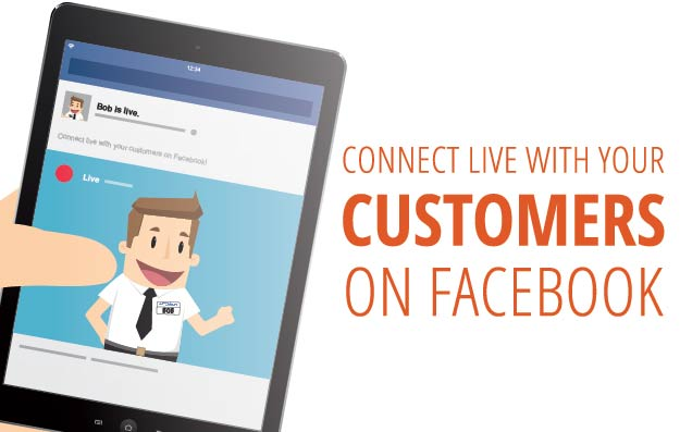 Connect Live With Customers on Facebook Live