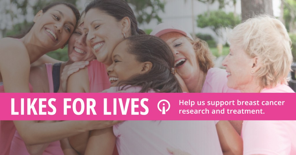 Search Influence Likes for Lives campaign image