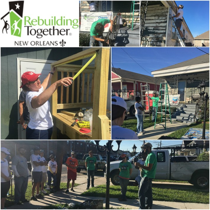 Rebuilding Together New Orleans Collage
