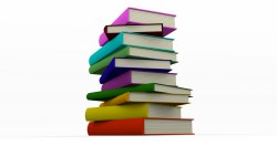 Colorful Books Stacked (Blender)