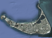 nantucket satellite view