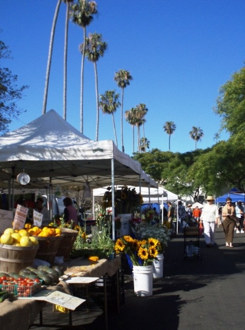 Santa Barbara Farmers Market, June 23, 2012