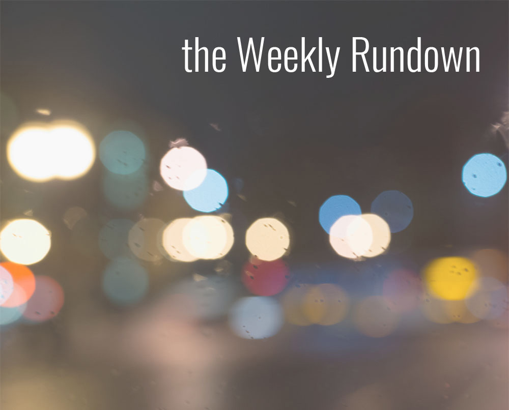 the Weekly Rundown: Currently Watching, Reading + Shopping