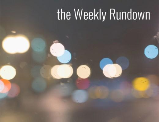 weekly rundown featured