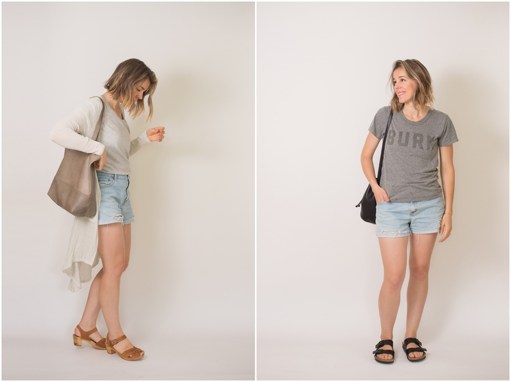 Summer 10x10 Closet Challenge: Looks 1 + 2