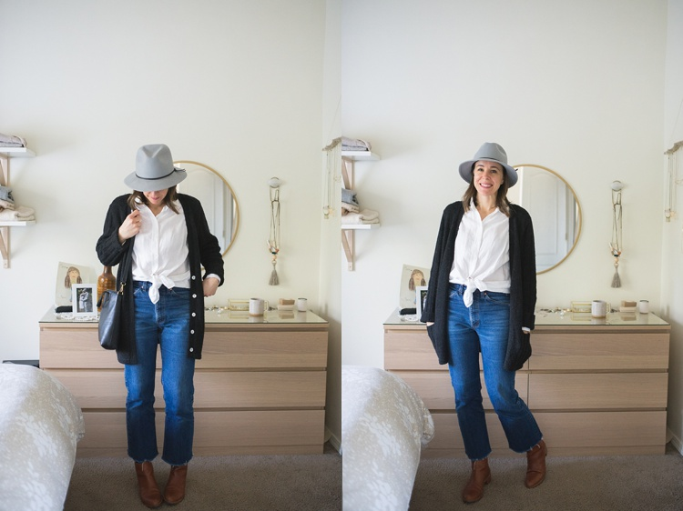 7 Days of Outfits: Hats + Boots