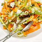 Spring Shaved Carrot and Asparagus Salad