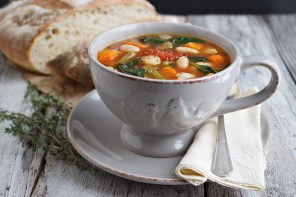 Provençal Style Winter Vegetable Soup