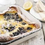 Pannakakku Finnish Pancake with Wild Blueberries